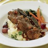 Wine-braised Short Ribs with Parsnips, Carrots and Artichokes