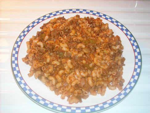 Macaroni and Beef