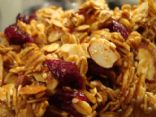 Cranberry Almond Spice Granola