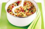 Spaghetti with Prawns & Chilli