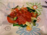 Jenny's Vegan Zucchini & Pepper Pasta