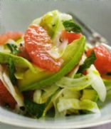 Pink Grapefruit,Avocado & Fennel Salad