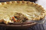 CHICKEN POT PIE with gravy