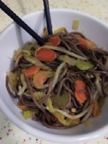 Soba Noodles with Veggies