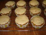 Carrot Cupcakes with Vanilla Protein Frosting