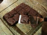 Double Chocolate Brownie - low fat & sugar