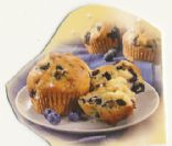 Splenda Blueberry Muffins
