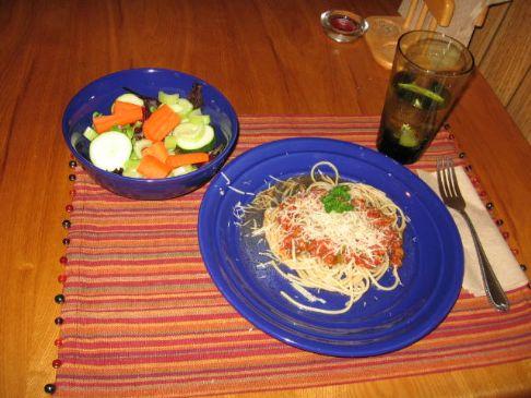 Summer Fresh Vegetarian Pasta