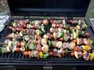 Sizzling Beef and Vegetable Kabobs