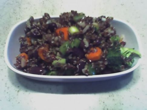 Red Inca Quinoa Salad