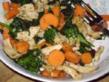 Spinach and Carrot with Chicken