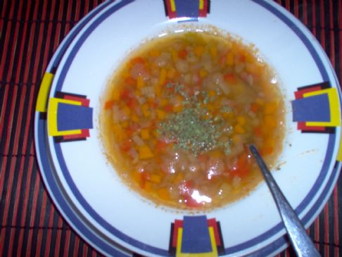 Lentils & Vegetable soup