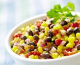 Bean, Corn, Avocado Salad