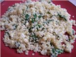Quinoa with Spinach and Feta Cheese