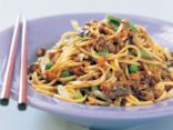 Vegetarian Chinese Noodles (chow mein)