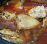 Chicken Merlot with Mushrooms Recipe | SparkRecipes