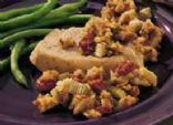 Slow Cooker Pork Chops with Apple-Cranberry Stuffing