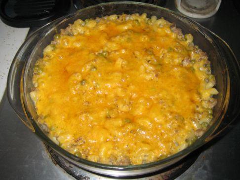 Turkey Noodle Casserole Recipe | SparkRecipes