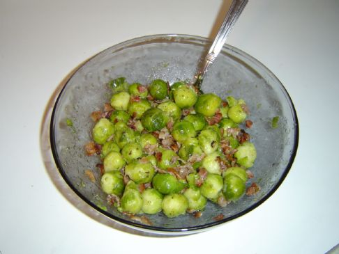 Bacon Bits & Brussels Sprouts