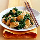 Chicken with Broccoli and Garlic Sauce
