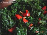 Red Pepper-Kale Sauteed