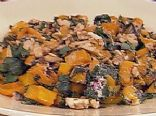 Roasted Butternut Squash w/Beet Greens