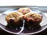 Cranberry Banana Muffins