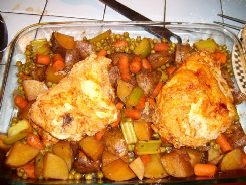 Skillet Chicken Supper