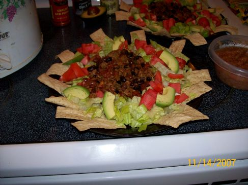 Taco Salad, Low Sodium