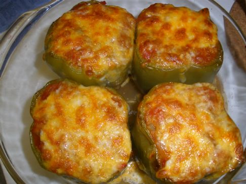 Turkey Stuffed Bell Peppers Recipe | SparkRecipes