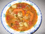 Quick & Easy Veggie Vegetable Soup