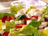 Strawberry and mozzarella salad