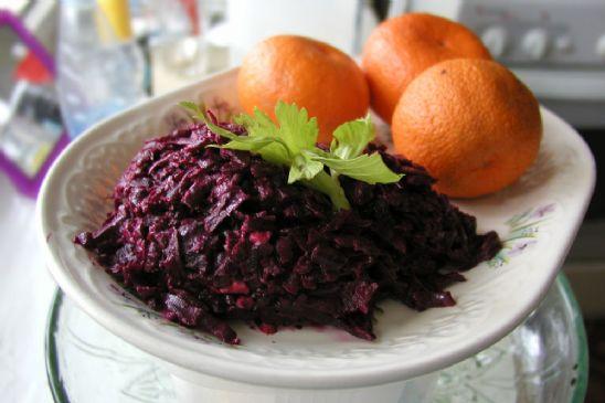 Russian Beet Salad ~ Light