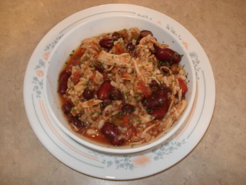 Southwest Chicken (Crock Pot)