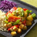 PIneapple Tofu Stir Fry