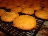 Ginger Pumpkin Chocolate Chip Cookies