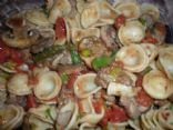 Orecchiette Pasta with Turkey Sausage