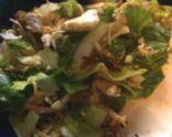 LB's Philly Steak Bomb Salad W/Zesty May'O Dressing