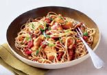 Capellini with Pine Nuts, Sun Dried Tomatoes and Chicken