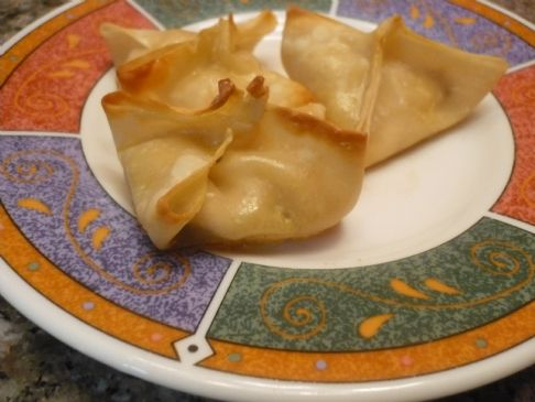 Baked Crab Rangoon Recipe | SparkRecipes