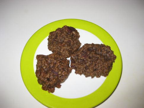 Chocolate Oatmeal Chocolate Chip Cookie