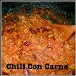 Turkey Chili Con Carne