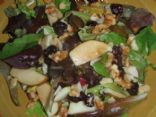 Harvest Salad with Apple Cider Balsamic Vinaigrette