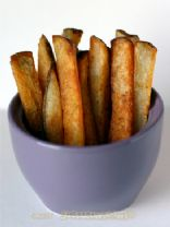 Baked turnip fries
