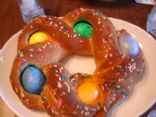 Braided Easter Egg Bread
