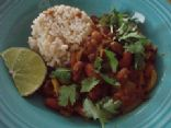 April's Kidney Bean curry