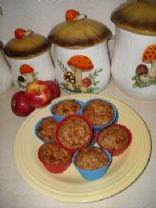 Apple-Oat Protein Muffin Cups