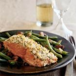 Image of Almond-chive Salmon, Spark Recipes