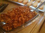 BBQ slow cooker turkey cutlets