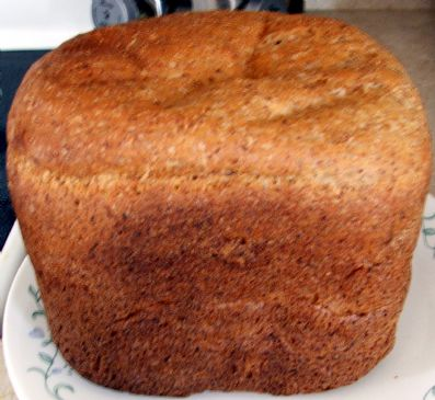 Flaxseed Bread Machine bread